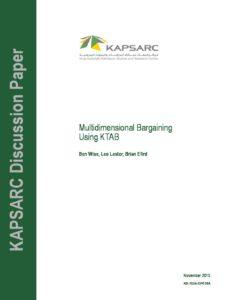 KS-1524-DP018A-Multidimensional Bargaining Using KTAB
