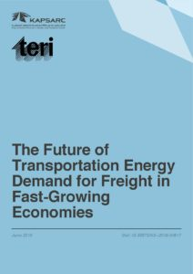 The Future of Transportation Energy Demand for Freight in Fast-Growing Economies