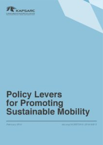 Policy Levers for Promoting Sustainable Mobility