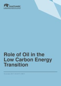 Role of Oil in the Low Carbon Energy Transition