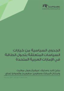 الجدوى السياسية من خياراتالسياسات المتعلقة بتحول الطاقةفي الإمارات العربية المتحدة