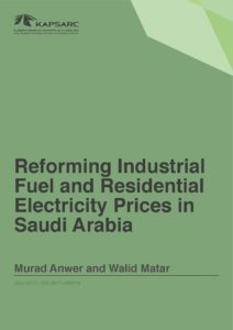 Reforming Industrial Fuel and Residential Electricity Prices in Saudi Arabia