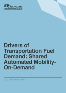 Drivers of Transportation Fuel Demand: Shared Automated Mobility-On-Demand
