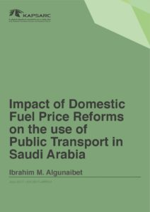 Impact of Domestic Fuel Price Reforms on the use of Public Transport in Saudi Arabia