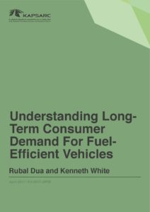 Understanding Long Term Consumer Demand For Fuel Efficient Vehicles