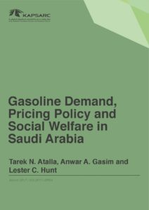 Gasoline Demand, Pricing Policy and Social Welfare in Saudi Arabia