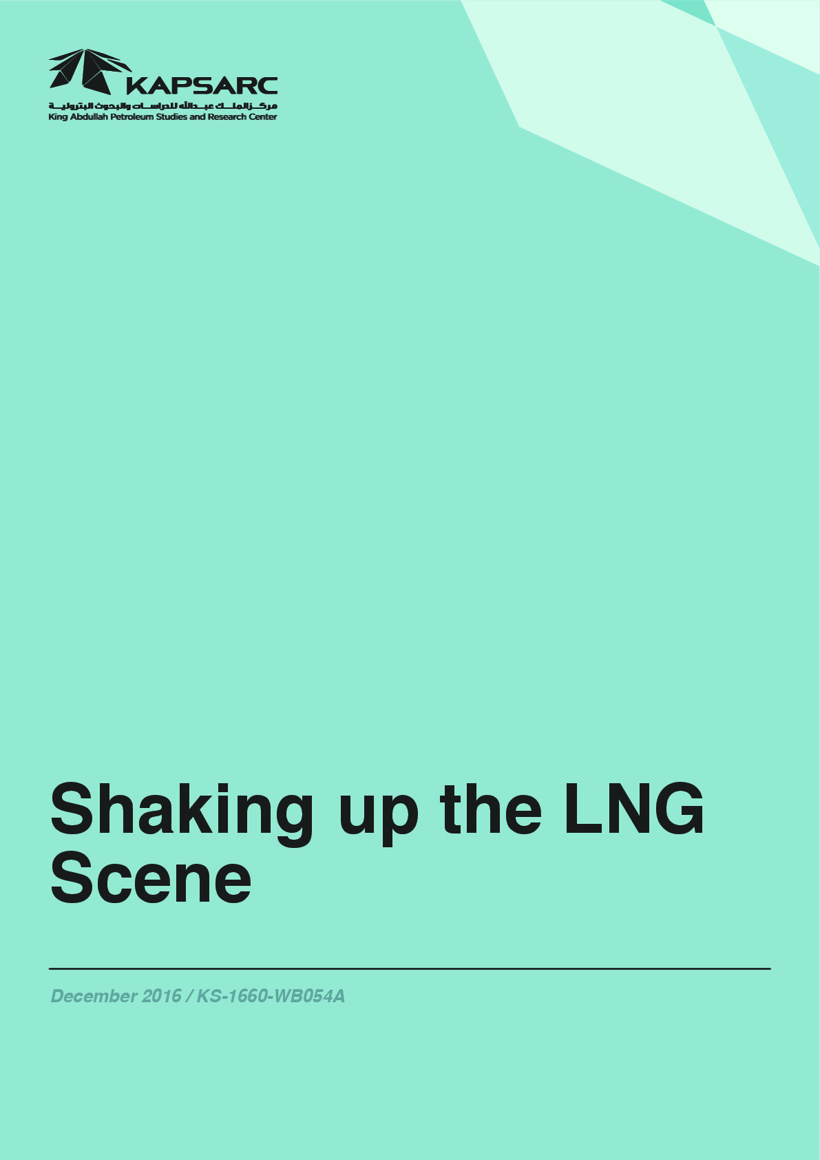 Shaking up the LNG Scene