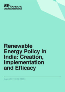 Renewable Energy Policy in India: Creation, Implementation and Efficacy