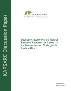 Macroeconomic Challenges for Eastern Africa