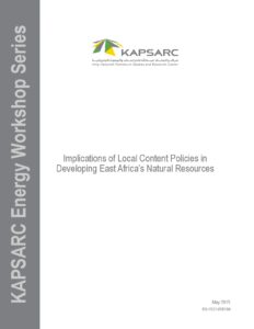 Implications of Local Content Policies in Developing East Africa's Natural Resources