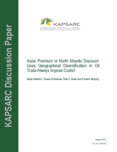 Asian Premium or North Atlantic Discount: Does Geographical Diversification in Oil Trade Always Impose Costs?