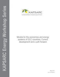 Models for the economies and energy systems of GCC countries
