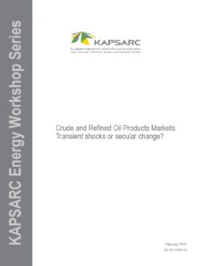 Crude and Refined Oil Products Markets: Transient Shocks or Secular Change?