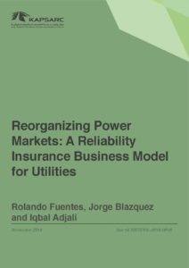 Reorganizing Power Markets: A Reliability Insurance Business Model for Utilities