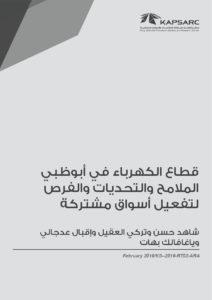 قطاع الكهرباء في أبوظبي- الملامح والتحديات والفرص لتفعيل أسواق مشتركة