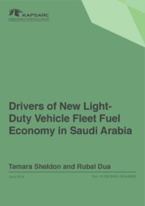 Drivers of New Light-Duty Vehicle Fleet Fuel Economy in Saudi Arabia