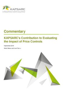 KAPSARC's Contribution to Evaluating the Impact of Price Controls