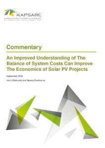 An Improved Understanding of The Balance of System Costs Can Improve The Economics of Solar PV Projects