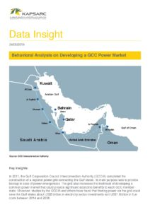 Behavioral Analysis on Developing a GCC Power Market