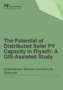 The Potential of Distributed Solar PV Capacity in Riyadh: A GIS-Assisted Study