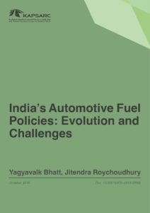 India's Automotive Fuel Policies: Evolution and Challenges