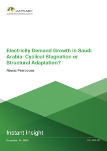 Electricity Demand Growth in Saudi Arabia: Cyclical Stagnation or Structural Adaptation?