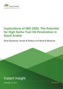Implications of IMO 2020: The Potential for High Sulfur Fuel Oil Penetration…