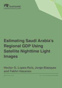 Estimating Saudi Arabia's Regional GDP Using Satellite Nighttime Light Images