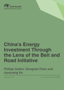 China's Energy Investment Through the Lens of the Belt and Road Initiative