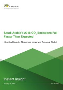 Saudi Arabia's 2018 CO2 Emissions Fall Faster Than Expected