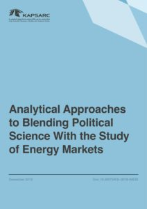 Analytical Approaches to Blending Political Science With the Study of Energy Markets