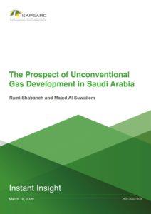 The Prospect of Unconventional Gas Development in Saudi Arabia