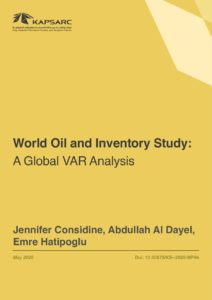 World Oil and Inventory Study: A Global VAR Analysis