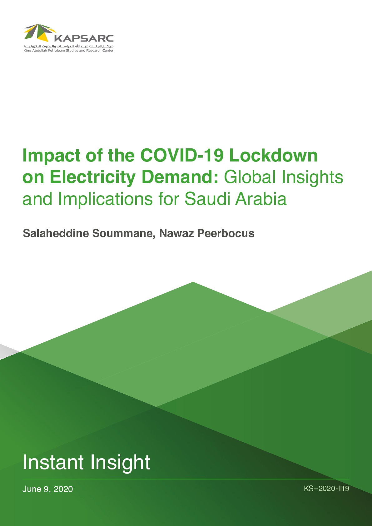 Impact of the COVID-19 Lockdown on Electricity Demand: Global Insights and Implications for Saudi Arabia
