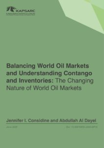 Balancing World Oil Markets and Understanding Contango and Inventories: The Changing Nature of World Oil Markets