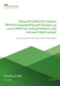 مستويات الانبعاثات الكربونية في المملكة العربية السعودية عام 2019 قبل تراجعها المتوقع هذا العام بسبب فيروس كورونا المستجد