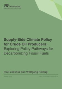 Supply-side Climate Policy for Crude Oil Producers