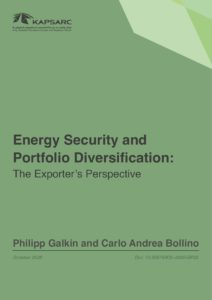 Energy Security and Portfolio Diversification: The Exporter's Perspective