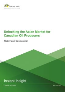 Unlocking the Asian Market for Canadian Oil Producers