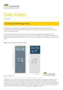 Charting Saudi Energy Flows