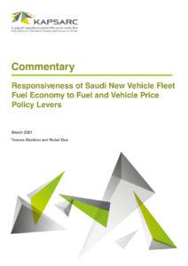 Responsiveness of Saudi New Vehicle Fleet Fuel Economy to Fuel and Vehicle Price Policy Levers