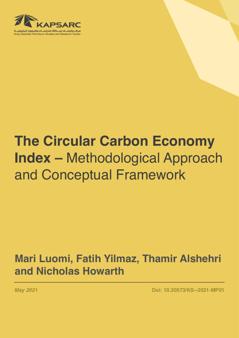 The Circular Carbon Economy Index – Methodological Approach and Conceptual Framework