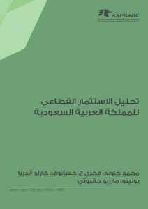 تحليل الاستثمار القطاعي للمملكة العربية السعودية
